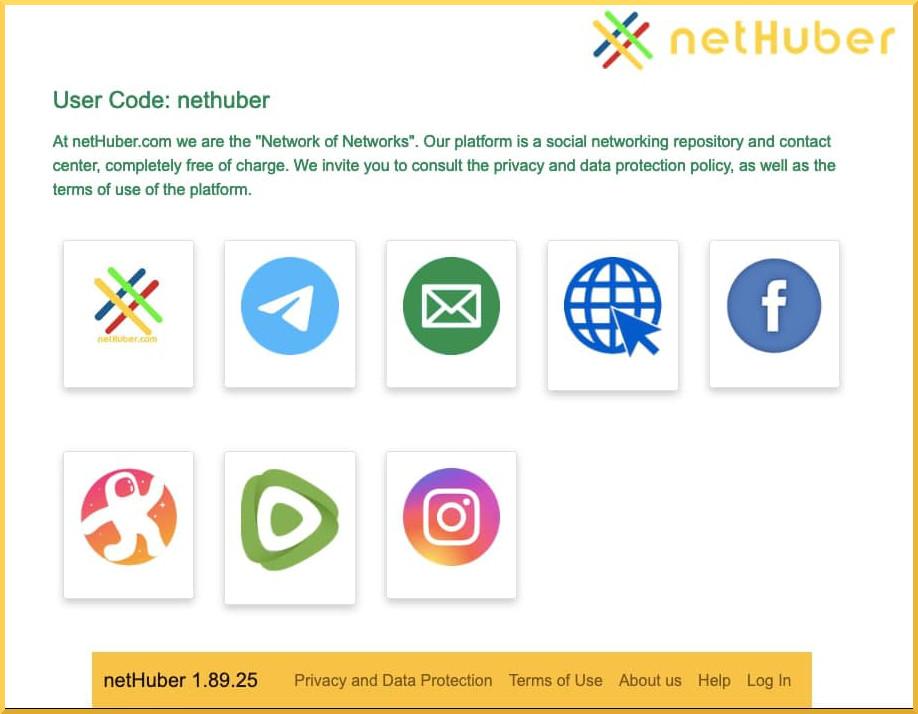 netHuber profile